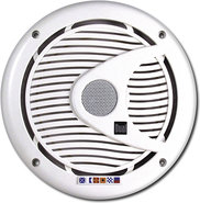 Dual - 6-1/2   2-Way Coaxial Marine Speakers with 