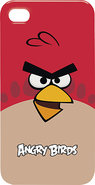 - Angry Birds Case for iPhone 4 - Red