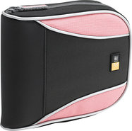 - 32-Disc Sport CD Wallet - Pink