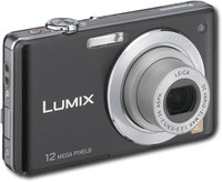 - Lumix 121-Megapixel Digital Camera - Black