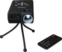 - P3 WSVGA LCOS Pico Pocket Projector - Soft Black