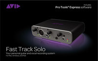 - Fast Track Solo USB Audio Interface