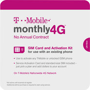 - Prepaid SIM Card