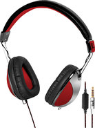 - LETHAL Digital Stereo Headphones - Red