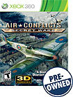Air Conflicts: Secret Wars - PRE-OWNED - Xbox 360