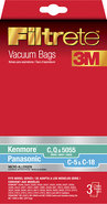 - Filtrete C-5 Vacuum Bag for Select Kenmore and P