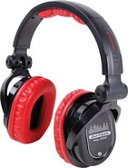 - Over-the-Ear DJ Headphones - Red