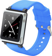- Q Collection Wrist Strap for iPod Nano 6G - Blue
