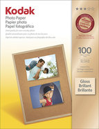 - Photo Paper Gloss 100 ct