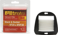 - Filtrete VF20/WVF30 Filter for Select Black &amp; De