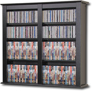 - Multimedia Storage Cabinet - Black