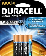 - Ultra AAA Batteries (4-Pack)