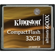 - Ultimate CF/32GB-U3 32 GB CompactFlash (CF) Card