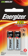 - A23 Silver Oxide Batteries (2-Pack)