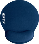- Memory Foam Mouse Pad - Blue