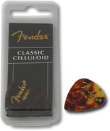 - Heavy Guitar Picks (12-Pack) - Tortoise Shell