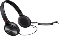 - On-Ear Headphones - Glossy Black