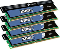 - XMS3 4-Pack 8GB CL9 DDR3 DIMM Desktop Memory Kit