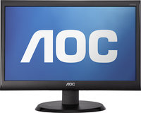 AOC - 185   LCD Monitor - Black