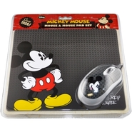 - Mickey Mouse Bundle Mouse and Mouse Pad - 82010