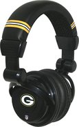- Green Bay Packers Over-the-Ear DJ Headphones