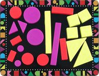 - 22-Piece Geometric Magnet Set