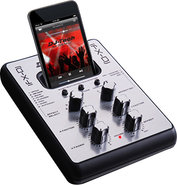 - 2-Channel DJ Audio Mixer