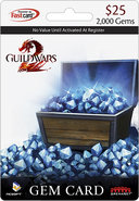 - Guild Wars 2 Gem Card ($25)