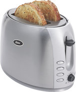 - 2-Slice Wide-Slot Toaster - Brushed Stainless-St