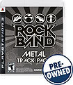 Rock Band Metal Track Pack - PRE-OWNED - PlayStati