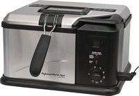 - 1 Gal Indoor Electric Fish Fryer - Black/Silver