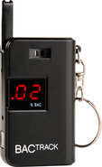 - Keychain Alcohol Detector - Black