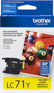 - Inkjet Cartridge for Brother Printers - Yellow