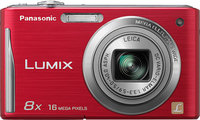 - Lumix FH27 161-Megapixel Digital Camera - Red