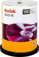 - 100-Pack Silver 16x DVD+R Disc Spindle