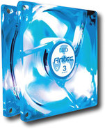 - TriCool 80mm LED CPU Cooling Fan - Blue