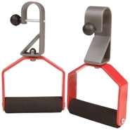 - Rotating Pull-Up Handles - Orange/Pewter