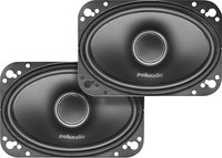 Polk Audio - 4   x 6   Coaxial Speakers with Polym