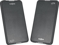- Flat-Panel Portable Speakers (Pair)