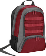 - C4 Laptop Backpack - Red/Gray