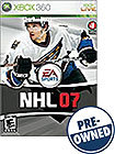 NHL 07 - PRE-OWNED - Xbox 360