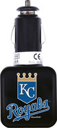 - Kansas City Royals Twin USB Car Charger - Black