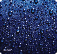 - Naturesmart Mouse Pad (Raindrop) - Blue