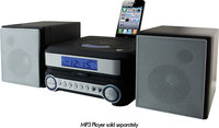 - CD Home Music System for Apple iPod and iPhone