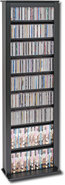 - Single Width Multimedia Tower - Black