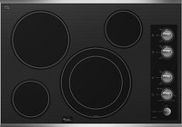 Whirlpool - 30   Built-In Electric Cooktop - Stain