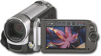 Canon - Digital Camcorder with 27   Display - Mist