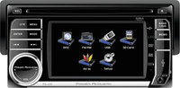 Power Acoustik - Car DVD Player - 45   Touchscreen