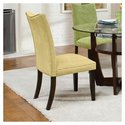 La Jolla Parsons Chair in Yellow (Set of 2)