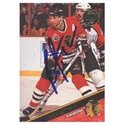 Brent Sutter, Chicago Blackhawks, 1993 Leaf Autogr